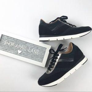 Calvin Klein Sneakers Black Silver Tea CK Logo